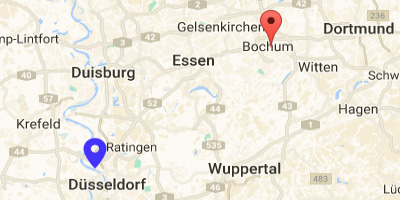 Map Mercure Bochum