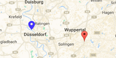 Map Mercure Remscheid